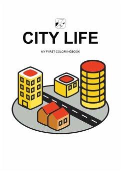 EyeVisto: City Life Malbuch