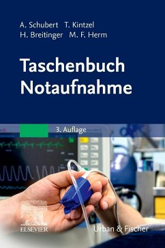 Taschenbuch Notaufnahme - Schubert, Andreas; Kintzel, Tina; Herm, Marcus Fabius; Breitinger, Hannes