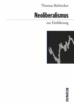 Neoliberalismus zur Einführung (eBook, ePUB) - Biebricher, Thomas