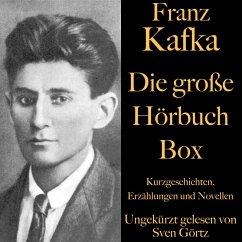 Franz Kafka: Die große Hörbuch Box (MP3-Download) - Kafka, Franz