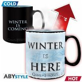 ABYstyle - Game of Thrones - Winter is here Thermoeffekt Tasse