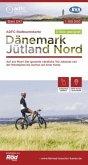 ADFC-Radtourenkarte Dänemark/Jütland Nord, 1:150.000, reiß- und wetterfest, GPS-Tracks Download, E-Bike geeignet
