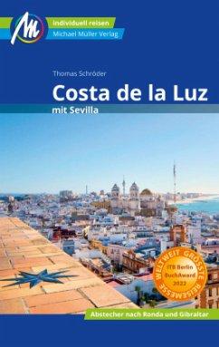Costa de la Luz mit Sevilla Reiseführer Michael Müller Verlag - Schröder, Thomas