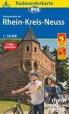 Radwanderkarte BVA Radwandern im Rhein-Kreis Neuss 1:50.000, reiß- und wetterfest, GPS-Tracks Download