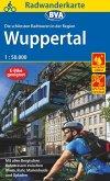 Radwanderkarte BVA Die schönsten Radtouren in der Region Wuppertal, 1:50.000, reiß- und wetterfest, GPS-Tracks Download,