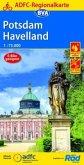 ADFC-Regionalkarte Potsdam Havelland, 1:75.000, reiß- und wetterfest, GPS-Tracks Download