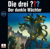 Der dunkle Wächter / Die drei Fragezeichen - Hörbuch Bd.204 (1 Audio-CD)