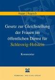 Gesetz zur Gleichstellung der Frauen im öffentlichen Dienst (GstG) für Schleswig-Holstein