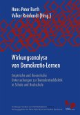 Wirkungsanalyse von Demokratie-Lernen