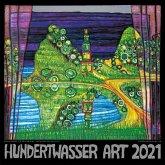 Hundertwasser Broschürenkalender Art 2021