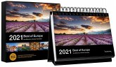 Tischkalender Best of Europe 2021