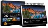 Tischkalender Die Farben der Erde 2021