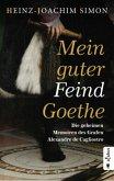 Mein guter Feind Goethe. Die geheimen Memoiren des Grafen Alexandre de Cagliostro