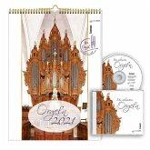 Orgeln 2021 Kalender mit CD