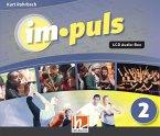 im.puls 2 - 4 Audio-CDs. Ausgabe Deutschland und Schweiz, 4 Audio-CD
