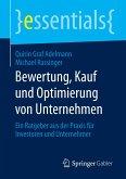 Bewertung, Kauf und Optimierung von Unternehmen