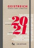 Geistreich durch zwei Semester - Semesterkalender 2020 / 2021