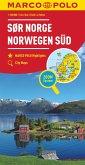 MARCO POLO Regiokarte N Norwegen Süd 1:325 000