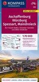 KOMPASS Fahrradkarte Aschaffenburg, Würzburg, Spessart, Maindreieck 1:70.000, FK 3351