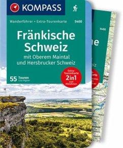 KOMPASS Wanderführer Fränkische Schweiz mit Oberem Maintal und Hersbrucker Schweiz - Aigner, Lisa