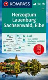 KOMPASS Wanderkarte Herzogtum Lauenburg, Sachsenwald, Elbe