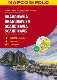 MARCO POLO Reiseatlas Skandinavien 1:250.000 / 1:650.000