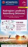 KOMPASS Fahrradkarte Radregion Landkreis Rotenburg (Wümme) 1:50.000, FK 3218
