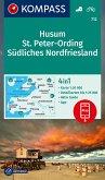 KOMPASS Wanderkarte Husum, St. Peter-Ording, Südliches Nordfriesland