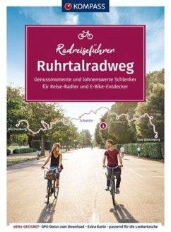 KOMPASS RadReiseFührer Ruhrtalradweg - Moczynski, Raphaela