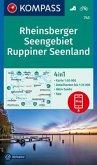 KOMPASS Wanderkarte Rheinsberger Seengebiet, Ruppiner Seenland