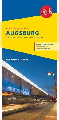 Falk Stadtplan Extra Standardfaltung Augsburg 1:20 000