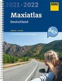 ADAC Maxiatlas Deutschland 2021/2022 1:150 000