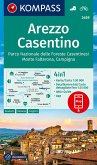 KOMPASS Wanderkarte Arezzo, Casentino, Parco Nazionale delle Foreste Casentinesi, Monte Falterona, Campigna