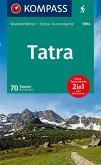 KOMPASS Wanderführer Tatra