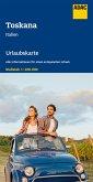 ADAC Urlaubskarte I Toskana 1:200 000