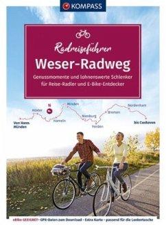 KOMPASS RadReiseFührer Weserradweg - Enke, Ralf