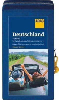 ADAC KartenSet Deutschland 2021/2022 1:200.000