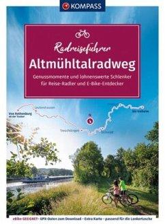 KOMPASS RadReiseFührer Altmühltalradweg - KOMPASS RadReiseFührer Altmühltalradweg