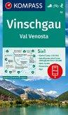 KOMPASS Wanderkarte Vinschgau /Val Venosta