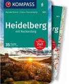 KOMPASS Wanderführer Heidelberg mit Neckarsteig