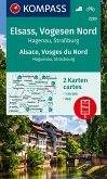 KOMPASS Wanderkarte Elsass, Vogesen Nord, Alsace, Vosges du Nord