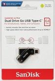 SanDisk Ultra Dual Drive Go 64GB USB Type C Flash SDDDC3-064G-G46