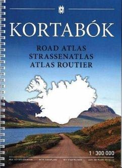 Iceland Straßenatlas 1:300 T. 2019-2020