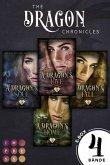 Sammelband der gefühlvollen Urban Fantasy Serie für Drachenfans (The Dragon Chronicles) (eBook, ePUB)