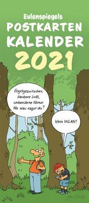 Eulenspiegels Postkartenkalender 2021 - VPE 5 Ex., 5 Teile