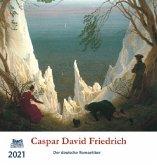 Caspar David Friedrich 2021 Postkartenkalender
