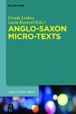 Anglo-Saxon Micro-Texts (eBook, ePUB)
