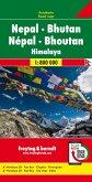 Freytag & Berndt Nepal - Bhutan, Autokarte 1:800.000