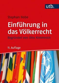 Einführung in das Völkerrecht - Hobe, Stephan