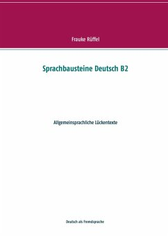 Sprachbausteine Deutsch B2 (eBook, ePUB) - Rüffel, Frauke